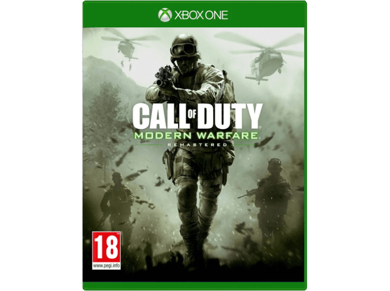 ACTIVISION Call of Duty Modern Warfare Remastered UK Xbox One