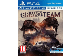 PLAYSTATION GAMES Bravo Team VR PS4