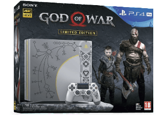 PLAYSTATION PS4 Pro 1 TB God of War Limited Editio